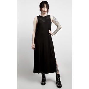 NEW🕷Disturbia Summer Gothic Mesh Midi Dress